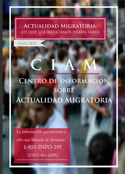 Actualidad en la Reforma Migratoria